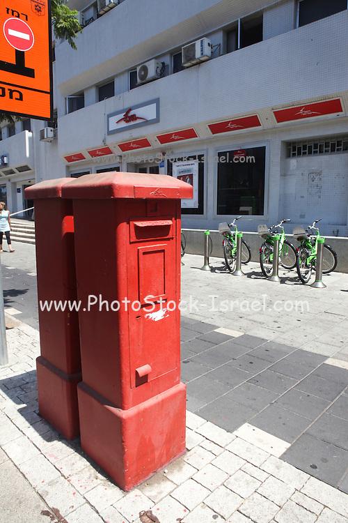 Israel, Tel Aviv, Israeli Postal Authority postbox