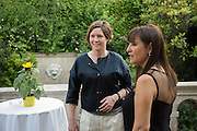 HANNAH WATSON; RABIA BAKICI GURELI;, Dinner to celebrate the 10th Anniversary of Contemporary Istanbul Hosted at the Residence of Freda & Izak Uziyel, London. 23 June 2015