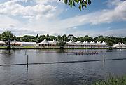 Henley on Thames. United Kingdom. St Pauls School Concord USA training on Henley Reach.  Monday,  27/06/2016,   16:55:35   2016 Henley Royal Regatta, Henley Reach.   [Mandatory Credit Peter Spurrier/ Intersport Images]