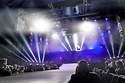 Nederland, Ewijk, 25-6-2017 Festival Down the Rabbit Hole , dtrh, 3e dag . Slotact Oscar and the Wolf, een Belgische electropop act uit Gent rond Max Colombie . Foto: Flip Franssen