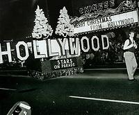 1979 Santa Claus Lane Parade on Hollywood Blvd.