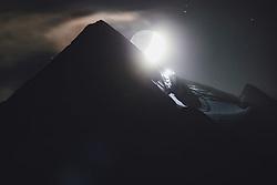THEMENBILD - der Neumond über den Kitzsteinhorn Gletscherskigebiet am Abend. Kaprun am Donnerstag 20. Oktober 2020, Österreich // the new moon over the Kitzsteinhorn glacier ski area in the evening. Kaprun on Thursday 20 October 2020, Austria. EXPA Pictures © 2020, PhotoCredit: EXPA/ Johann Groder