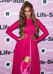 HOLLYWOOD, LOS ANGELES, CA, USA - NOVEMBER 27: Model Tyra Banks arrives at the World Premiere Of Freeform's 'Life-Size 2' held at The Hollywood Roosevelt on November 27, 2018 in Hollywood, Los Angeles, California, United States. 27 Nov 2018 Pictured: Tyra Banks. Photo credit: Xavier Collin/Image Press Agency/MEGA TheMegaAgency.com +1 888 505 6342