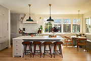 Beautiful farmhouse kitchen photo by Brandon Alms Photography