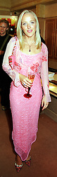 MISS CLARE BECKWITH daughter of Peter Beckwith<br />  at a party in London on 15th June 2000.OFI 30<br /> © Desmond O'Neill Features:- 020 8971 9600<br />    10 Victoria Mews, London.  SW18 3PY <br /> www.donfeatures.com   photos@donfeatures.com<br /> MINIMUM REPRODUCTION FEE AS AGREED.<br /> PHOTOGRAPH BY DOMINIC O'NEILL