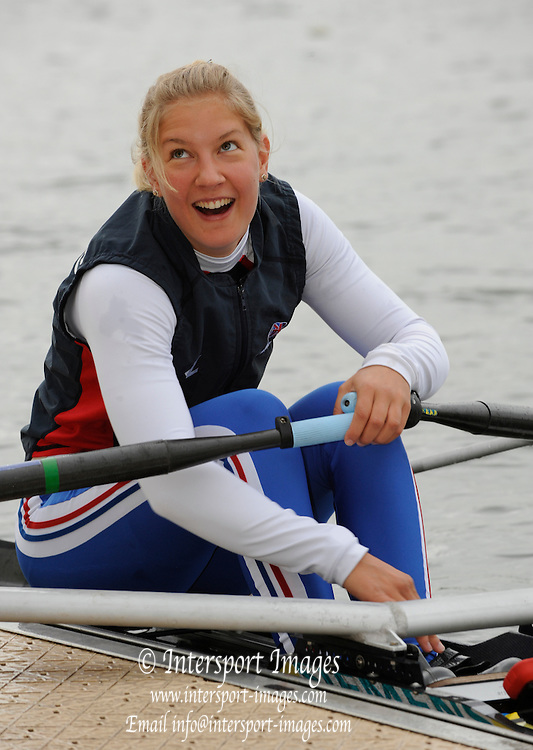 Caversham; Great Britain; Kristine STILLER; GB Rowing media day at the Redgrave Pinsent Rowing Lake. GB Rowing Training centre. Wed. 20.04.2008; Mandatory Credit. Peter Spurrier/Intersport Images Rowing course: GB Rowing Training Complex, Redgrave Pinsent Lake, Caversham, Reading