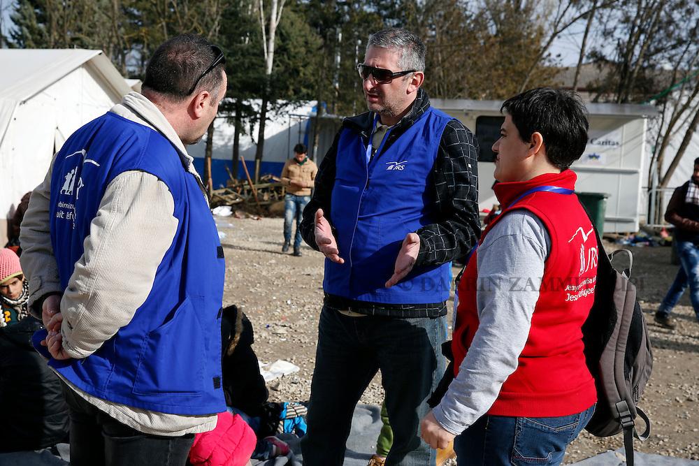 Migrants and refugees in Presevo, Serbia.<br /> Photo: Darrin Zammit Lupi