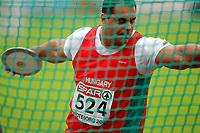 Friidrett , 13. juli 2006 , Gøteborg , EM ,<br /> Europamesterskapet ,<br /> Athletics , European  Championship <br /> diskos<br /> Roland Varga