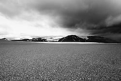 Mountains at Sprengisandur, highlands of Iceland-  Fjallasýn á Sprengisandsleið