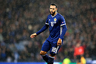 Scotland forward Matthew Phillips (18) (West Bromwich Albion)  during the UEFA Nations League match between Scotland and Israel at Hampden Park, Glasgow, United Kingdom on 20 November 2018.