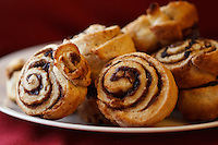 I made some cinnaom buns for breakfast this morning and they looked so delicious sitting on the plate that I had to take a few pictures.  Makes me hungry just looking at them!..©2010, Sean Phillips.http://www.Sean-Phillips.com