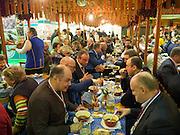 Berlin. Grüne Woche, Norway on the International Food Festival Green Week.