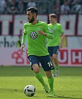 Yunus Malli (Wolfsburg)<br /> Frankfurt, 06.05.2017, Fussball Bundesliga, Eintracht Frankfurt - VfL Wolfsburg 0:2<br /> Norway only