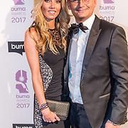 NLD/Hilversum//20170306 - uitreiking Buma Awards 2017, Eelko van Kooten en partner