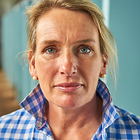Champion merino breeder Georgina Wallace for Great Australians magazine