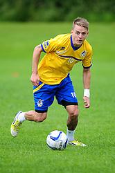 Bristol Rovers' Eliot Richards - Photo mandatory by-line: Dougie Allward/JMP - Tel: Mobile: 07966 386802 24/06/2013 - SPORT - FOOTBALL - Bristol -  Bristol Rovers - Pre Season Training - Npower League Two