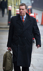 © London News Pictures. 08/03/2013. London, UK. Former News of the World royal correspondent Clive Goodman arriving at The Old Bailey court in London where to face charges related to the police investigation into phone hacking at News International and payments to officials. Photo credit: Ben Cawthra/LNP