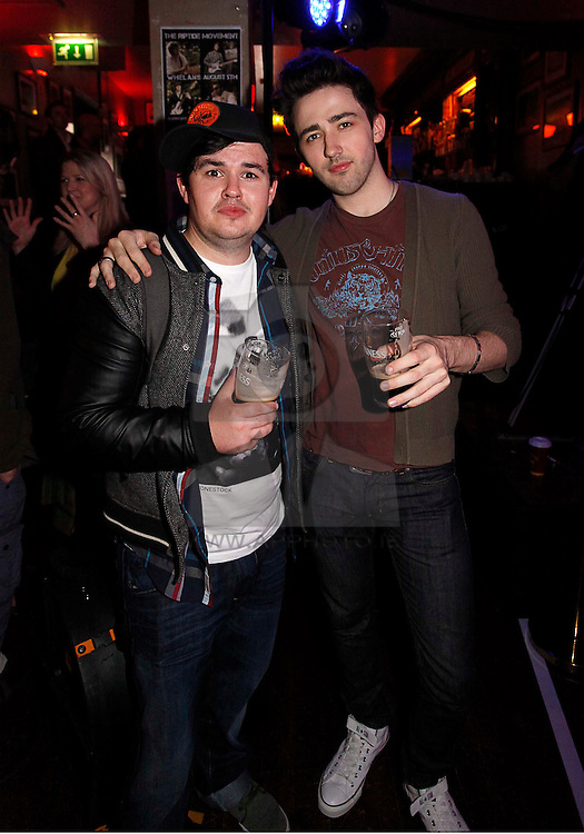 Ronan Nolan and Gregor McWilliam pictured at the launch of Arthur's Day 2011. Pic Andres Poveda CPR
