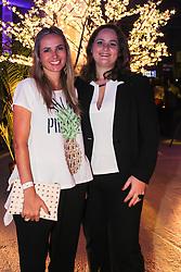 Aline Fuhrmeister e Caroline Boeck na festa de inauguração do Viva Open Mall. FOTO: Dani Barcellos/ Agência Preview