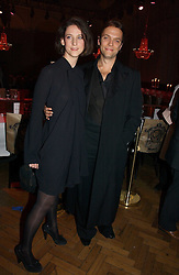 Designer MARIA GRACHVOGEL and MIKE SIMCOCK at the 6th annual Lancome Colour Design Awards in association with CLIC Sargent Cancer Care held at Lindley Hall, Victoria, London on 28th November 2006.<br />
