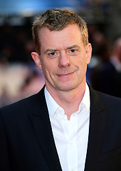 Graham Broadbent attending The Guernsey Literary and Potato Peel Pie Society world premiere held at Curzon Mayfair, London.