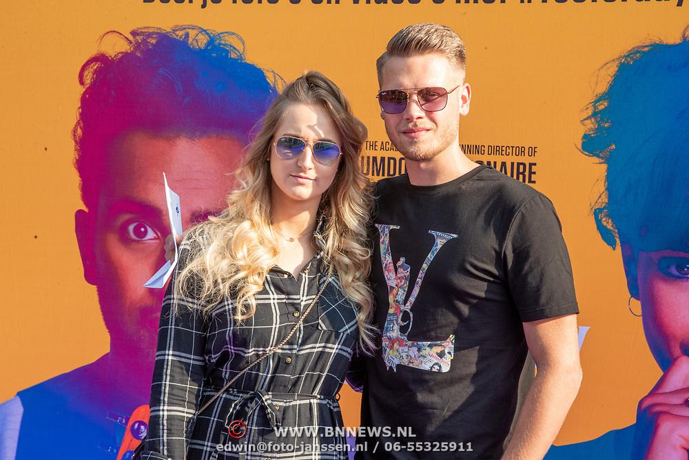 NLD/Amsterdam/20190624 - speciale voorvertoning Yesterday, Ginny Hamersma and Dave Dekker