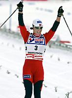 ◊Copyright:<br />GEPA pictures<br />◊Photographer:<br />Mario Kneisl<br />◊Name:<br />Bjoergen<br />◊Rubric:<br />Sport<br />◊Type:<br />Ski nordisch, Nordische Kombination<br />◊Event:<br />FIS Nordische SKI-Weltmeisterschaft, WM 2005, 15 km Verfolgung, Damen<br />◊Site:<br />Oberstdorf, Deutschland<br />◊Date:<br />19/02/05<br />◊Description:<br />Marit Bjoergen (NOR)<br />◊Archive:<br />DCSKN-1902054310<br />◊RegDate:<br />19.02.2005<br />◊Note:<br />8 MB - SU/SU - Nutzungshinweis: Es gelten unsere Allgemeinen Geschaeftsbedingungen (AGB) bzw. Sondervereinbarungen in schriftlicher Form. Die AGB finden Sie auf www.GEPA-pictures.com.<br />Use of picture only according to written agreements or to our business terms as shown on our website www.GEPA-pictures.com.
