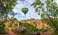The Belogradchik Rocks are a group of strangely shaped sandstone and conglomerate rock formations located on the western slopes of the Balkan Mountains near the town of Belogradchik in northwest Bulgaria.
