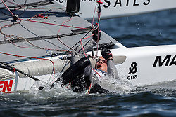 Third day of the Delta Lloyd North Sea Regatta, Scheveningen, the Netherlands, Sunday, 8th June 2014.