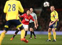 Manchester United's Shinji Kagawa in action