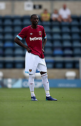 West Ham United's Pedro Obiang during the pre-season match at Adams Park, Wycombe.
