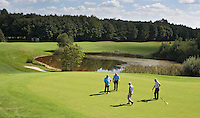EMMEN-Hole 6/ 15  GOLFPARC SANDUR 9 holes golfbaan. 9 uitdagende holes aan de zuidrand van het op de Hondsrug  COPYRIGHT KOEN SUYK