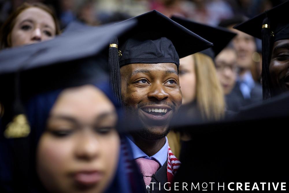 Ke'Von Miles on graduation day.