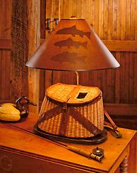 Fly fishing Creel lamp