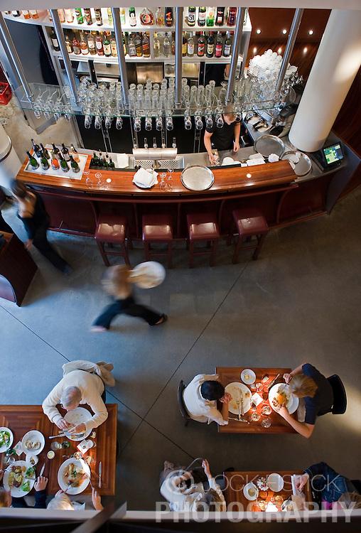 The Cafe du Theatre restaurant in Ghent, Belgium. (Photo © Jock Fistick)