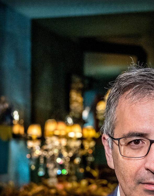 Netherlands. Amsterdam, 18-10-2019. Photo: Patrick Post.  Portret van Sergei M. Guriyev, a Russian economist, a professor of economics at the Instituts d'études politiques in Paris