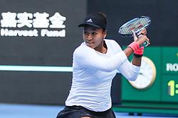 October 9, 2018 - Beijing, Beijing, China - Beijing,CHINA-Professional tennis player Anastasija Sevastova defeats Naomi Osaka 2-0 at the final of 2018 China Open in Beijing, China, October 6th, 2018. (Credit Image: © SIPA Asia via ZUMA Wire)