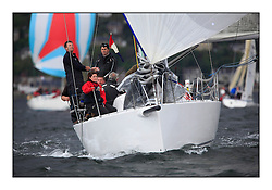 Savills Kip Regatta 2011, the opening regatta of the Scottish Yachting Circuit, held on the Clyde...Jackaroo, J97, GBR2097R..