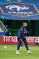 Kylian Mbappe (FRA) at warm up during the UEFA Nations League football match between France and Sweden on November 17, 2020 at Stade de France in Saint-Denis, France - Photo Stephane Allaman / ProSportsImages / DPPI