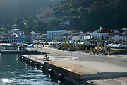 Harbour in Sami, Kefalonia, Greece. Kefalonia is an island in the Ionian Sea, west of mainland Greece.