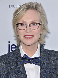 Jane Lynch arrives at Jessie Tyler Ferguson's 'Tie The Knot' 5 Year Anniversary celebration held at NeueHouse Hollywood in Los Angeles, CA on Thursday, October 12, 2017. (Photo By Sthanlee B. Mirador/Sipa USA)