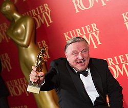 25.04.2015, Hofburg, Wien, AUT, Romy Gala 2015, im Bild Bester Schauspieler Serie Axel Prahl // during Romy Gala 2015 at Hofburg in Vienna, Austria on 2015/04/25, EXPA Pictures © 2015, PhotoCredit: EXPA/ Michael Gruber