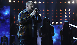 Rag N Bone man performs during the BBC Sports Personality of the Year 2017 at the Liverpool Echo Arena.