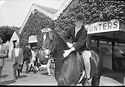 RDS Horse Show.<br /> 08.08.1963