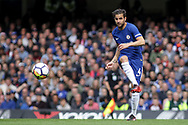 Cesc Fabregas of Chelsea in action.  Premier league match, Chelsea v Arsenal at Stamford Bridge in London on Sunday 17th September 2017.<br /> pic by Kieran Clarke, Andrew Orchard sports photography.