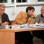 Algemene Beschouwingen 1999 gemeente Huizen, Nol Helm, Monica Lemmens, Gerrit Pas