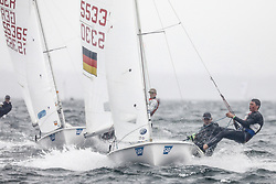 , Travemünde - Travemünder Woche 21. - 30.07.2017, 420er - GER 55330 - Lennart KUSS - Paul ARP - Warnemünder Segel-Club e. V怀