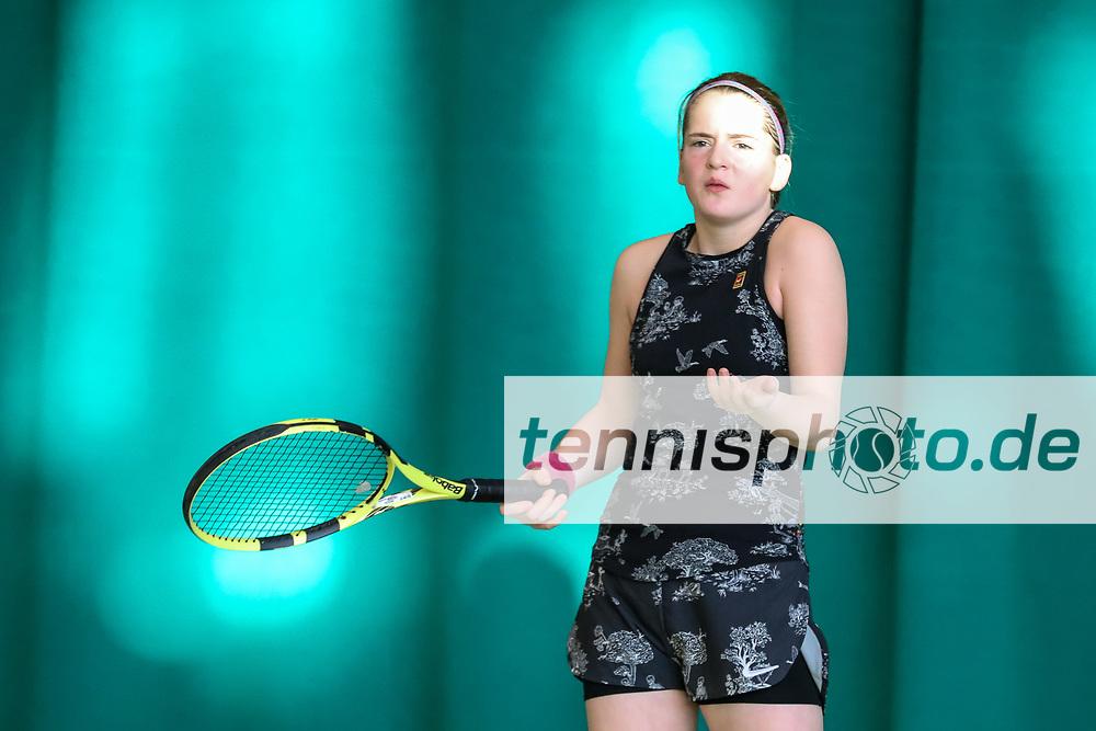 Anouk van Riesen (Tennis-Club SCC Berlin), TVBB-Jugendhallenmeisterschaften 2020 U16/U18, Seeburg, 12.1.2020, Foto: Claudio Gärtner