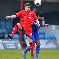 TELFORD COPYRIGHT MIKE SHERIDAN  during the Vanarama Conference North fixture between AFC Telford United and Alfreton Town at The Impact Arena on Wednesday, January 1, 2020.<br /> <br /> Picture credit: Mike Sheridan/Ultrapress<br /> <br /> MS201920-038