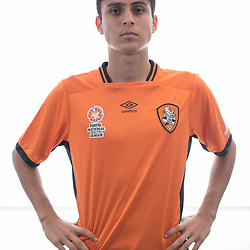 BRISBANE, AUSTRALIA - MARCH 17: Omar Sidiqi poses for a photo during the Brisbane Roar Youth headshot session at QUT Kelvin Grove on March 17, 2017 in Brisbane, Australia. (Photo by Patrick Kearney/Brisbane Roar)